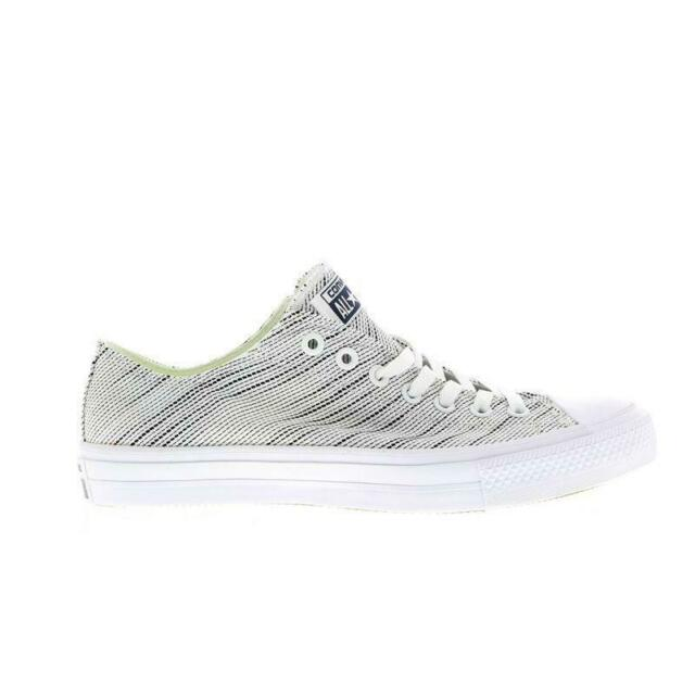 f3bc0ade0f5f30 Converse Chuck Taylor All Star II Knit White Grey Mens Casual ...