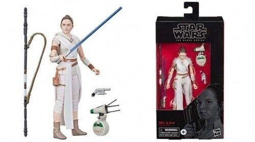 STAR Wars Black Series 6 Inch Figura REY /& D-O