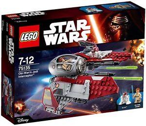 LEGO-Star-Wars-75135-Obi-Wan-039-s-Jedi-Interceptor-Nuovo-sigillato