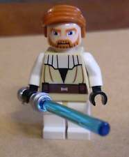 Lego Star Wars Obi-Wan Kenobi ( Clone Wars ) Figur m. Laserschwert Waffe Ben Neu