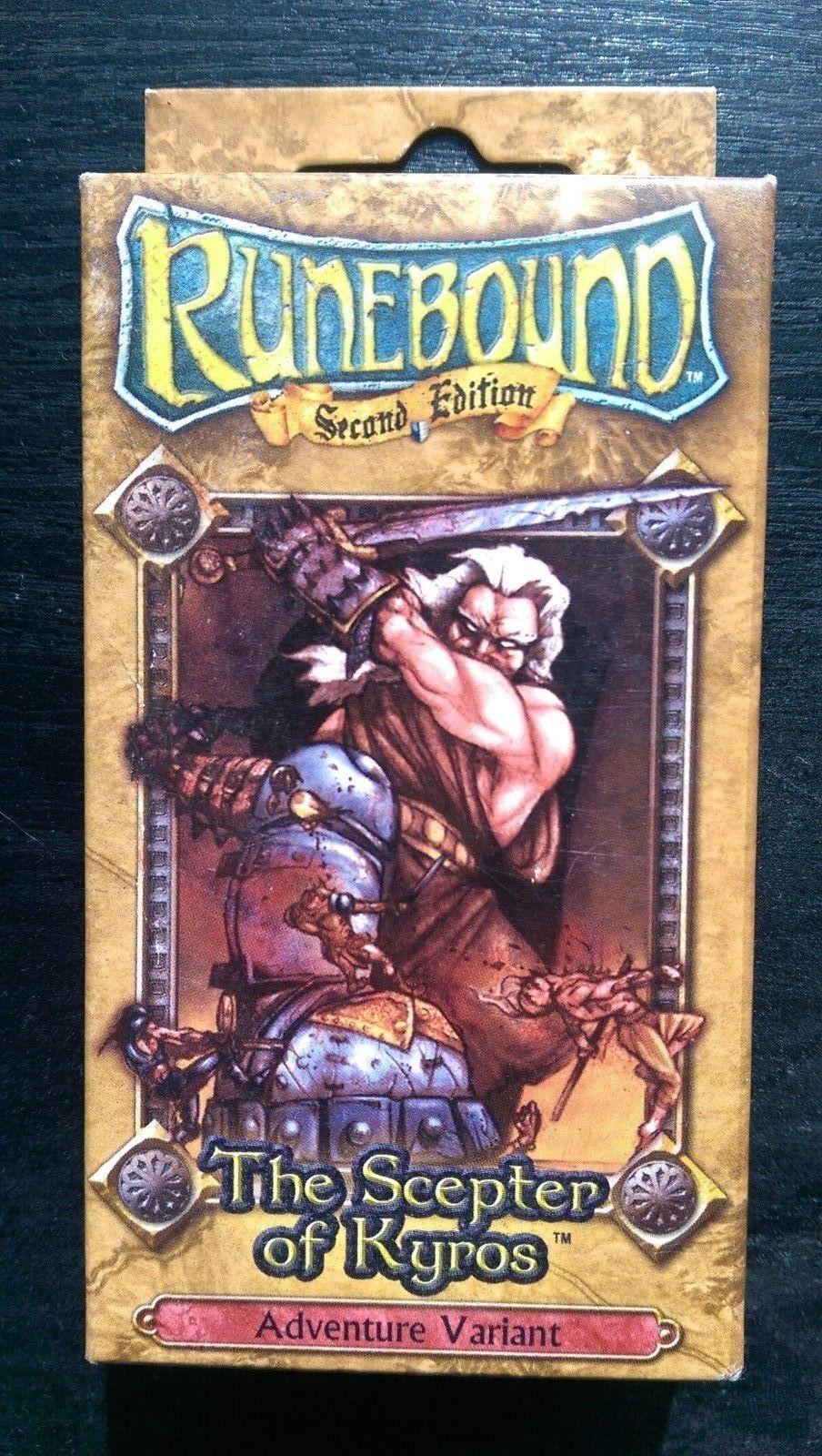 venta directa de fábrica Runebound 2nd edición el cetro de de de Kyros Variante De Aventura  oferta de tienda