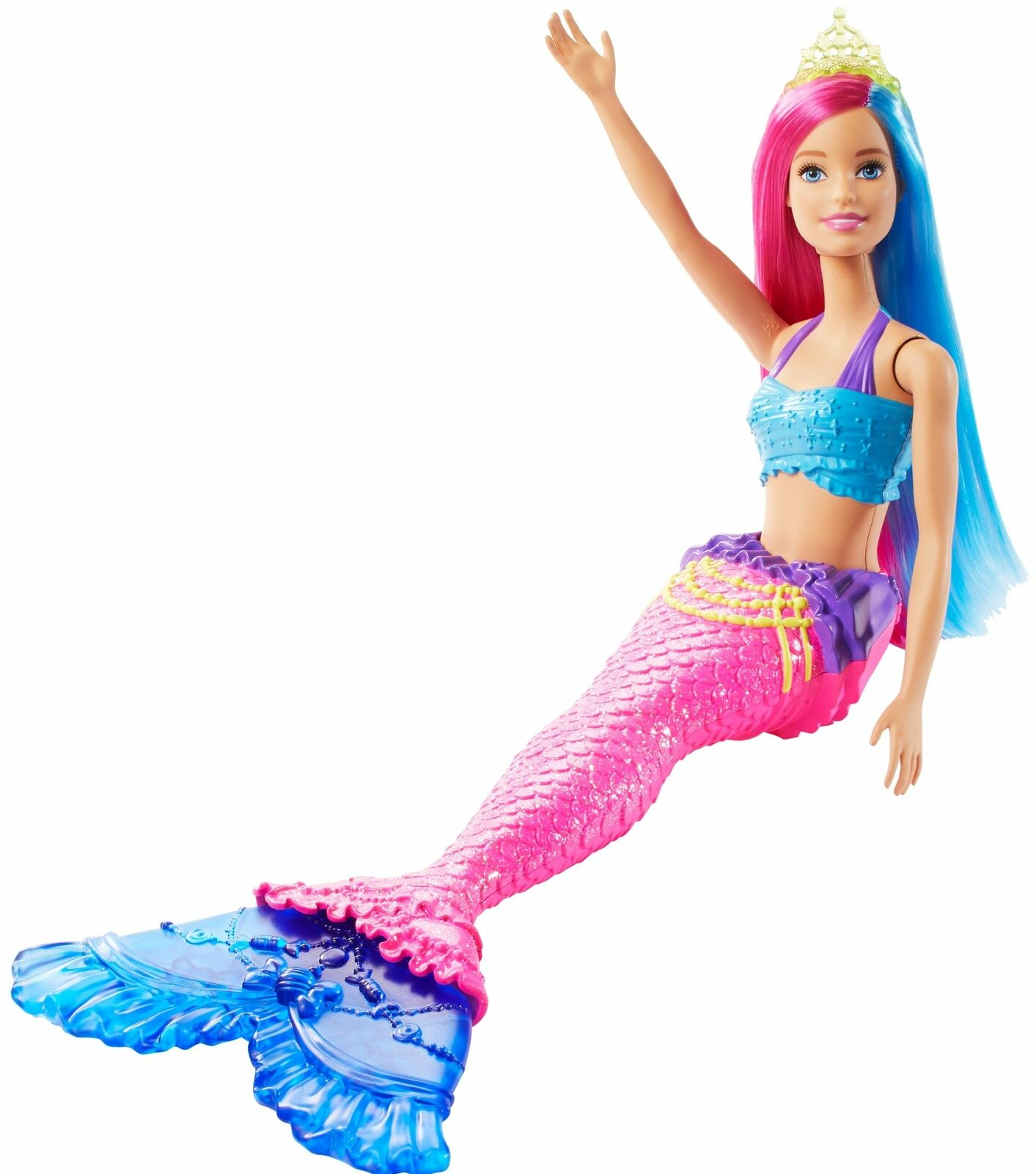 Barbie Dreamtopia Mermaid Doll,...