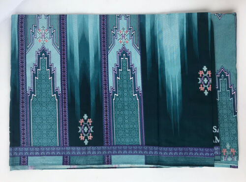 Men/'s Thai Sarong Tube Plaid Pattern Multi-Color Stitched Wrap Ready to Wear