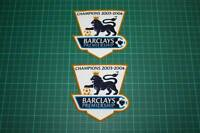 F.A. PREMIER LEAGUE GOLD-CHAMPIONS BADGES 2003-2004