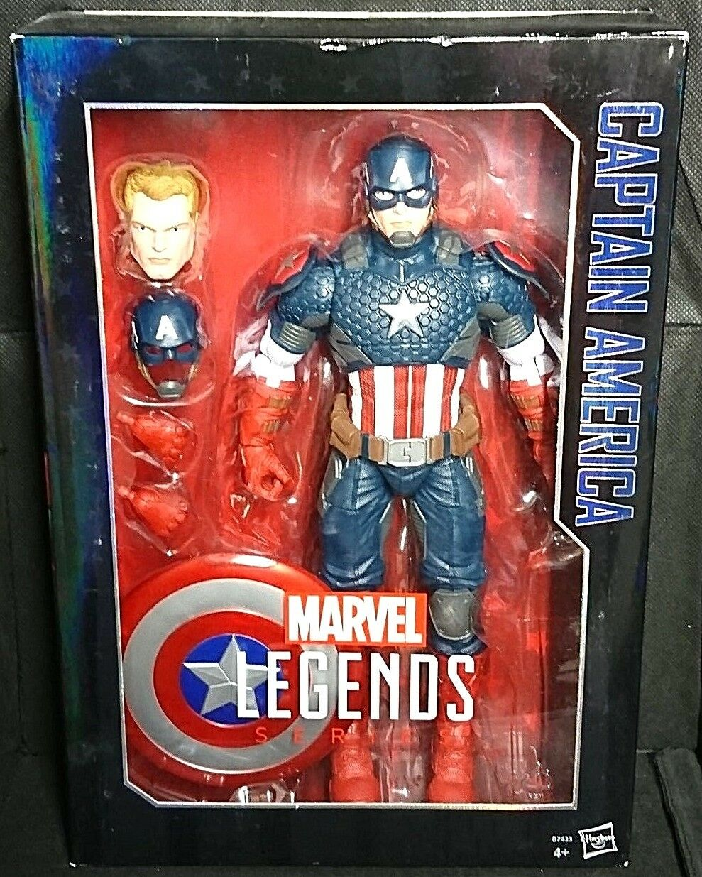 Marvel Legends CAPTAIN AMERICA (Avengers Steve Rogers Chris Evans) 12  Figure