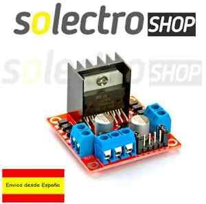 Controlador-L298N-Motores-DC-PAP-Driver-Stepper-Doble-puente-H-Arduino-Robot