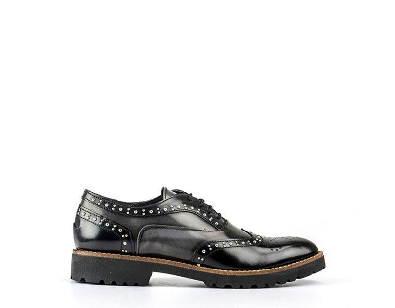 Schuhe EASY PEASY Damenschuhe NERO/GRIGIO Pelle naturale ROCK103ABR-NG
