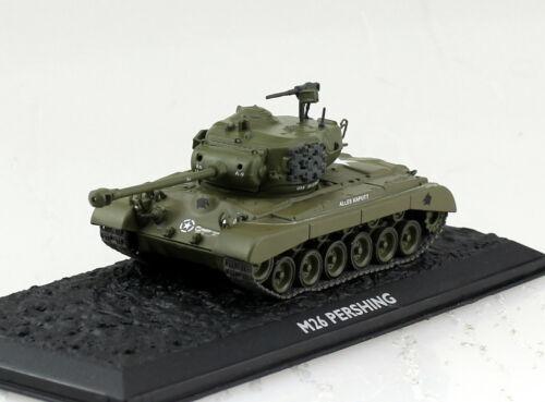 Panzer M26 Pershing UT Fertigmodell 1:72 Altaya Modell