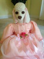 Fancy Francine-Musical No Box Betty Jane Carter Dolls by Goebel Poodle Dog Pink