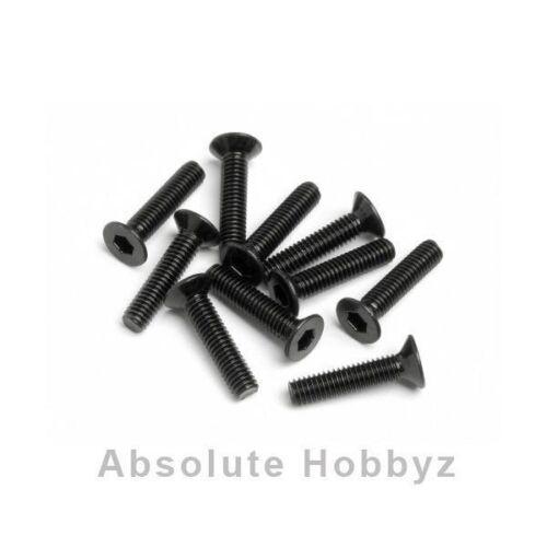HPI 2.5x12mm Flat Head Hex Screw (10) - HPIZ449
