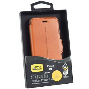 Genuine-OtterBox-Strada-iPhone-7-Leather-Book-Flip-Wallet-Case-Cover-iPhone-8