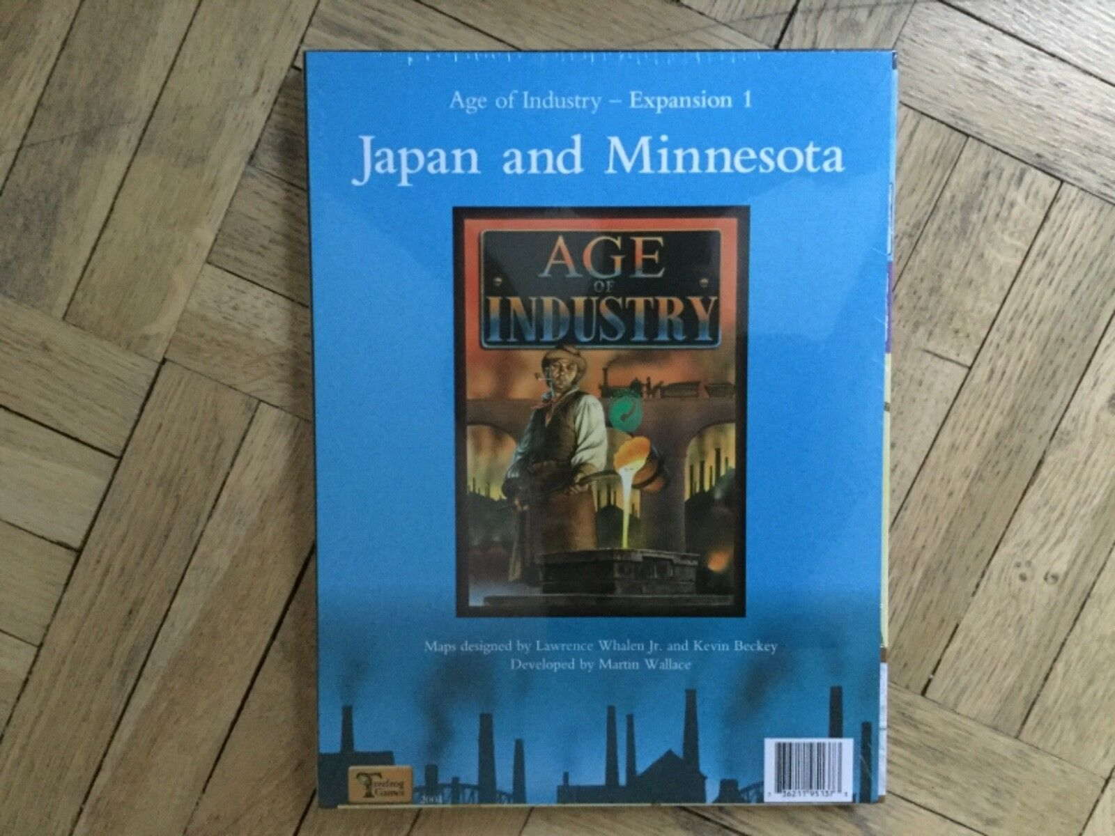 Treefrog Age of Industry - Expansion Erweiterung Japan and Minnesota - Wallace