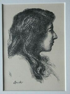 Hermann-Struck-1876-1944-5-ORIGINALE-Lithografien-ca-1920