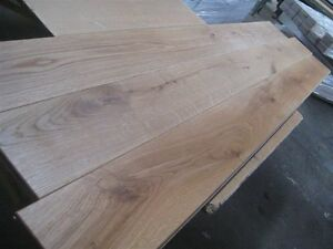 Solid Unfinished European Floor Boards Oak Flooring Wide Planks