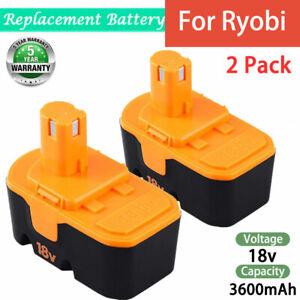 2-3600mAh-for-Ryobi-18V-Battery-Ni-MH-ONE-P100-P101-ABP1801-ABP1803-BPP1820