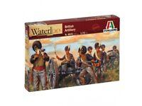 Italeri 1/72nd Napoleonic War British Artillery Figures Cannons Set 6041