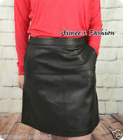 NEXT NEW PU LEATHER LOOK SKIRT