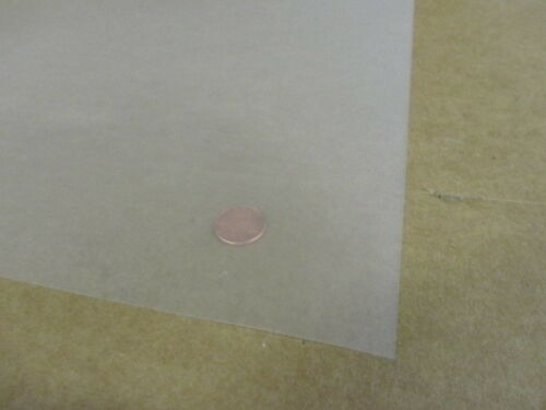 ".005/"" 4 Pcs Textured 2 Sides Polycarbonate Film 24/"" x 48/"" Clear 5 Mil"