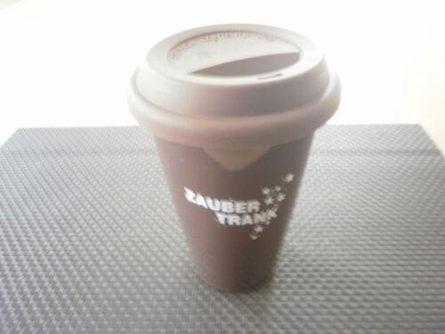 Porcelaine Tasse Tasse Coffee to Go marron nouveau marque brutes neuf dans sa boîte