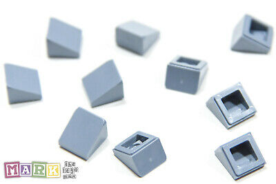 NEUF Reddish Brown Lego 54200-10x Brique // Slope 30 1x1x2//3 50746 35338