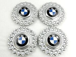 "SATZ BMW Felgendeckel NEU !!!  für E24 E32 E34 15"" BBS Kreuzspeichen Alufelgen"