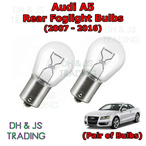 07-16 Bulb Light Lights Fog 382 12v 21w Audi A5 Rear Foglight Bulbs