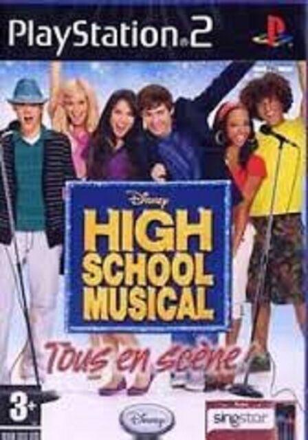 HIGH SCHOOL MUSICAL   TOUS EN SCENE              -----   pour PS2