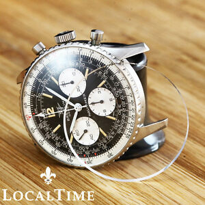 Details About New Domed Plexi Glass For Breitling Navitimer 806 Cosmonaute 809 Chrono Watch