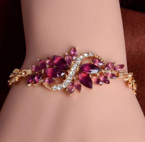 """Edelschmuck! Hochzeits Armkette Armband Armkettchen /""""LEAVES/"""" in versch Farben"""