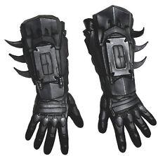 BATMAN Deluxe Adult Size Gloves Dark Knight Arkham Gauntlets Costume Accessory