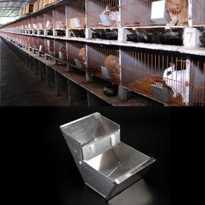 Rabbit-hutch-trough-feeder-drinker-bowl-for-rabbit-farming-animalequipmenttoolLJ