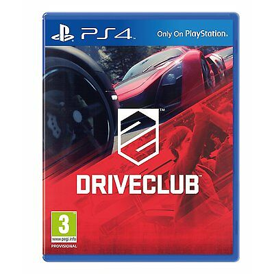 Driveclub PS4 PlayStation 4 NEW DISPATCH TODAY ALL ORDERS BY 2PM