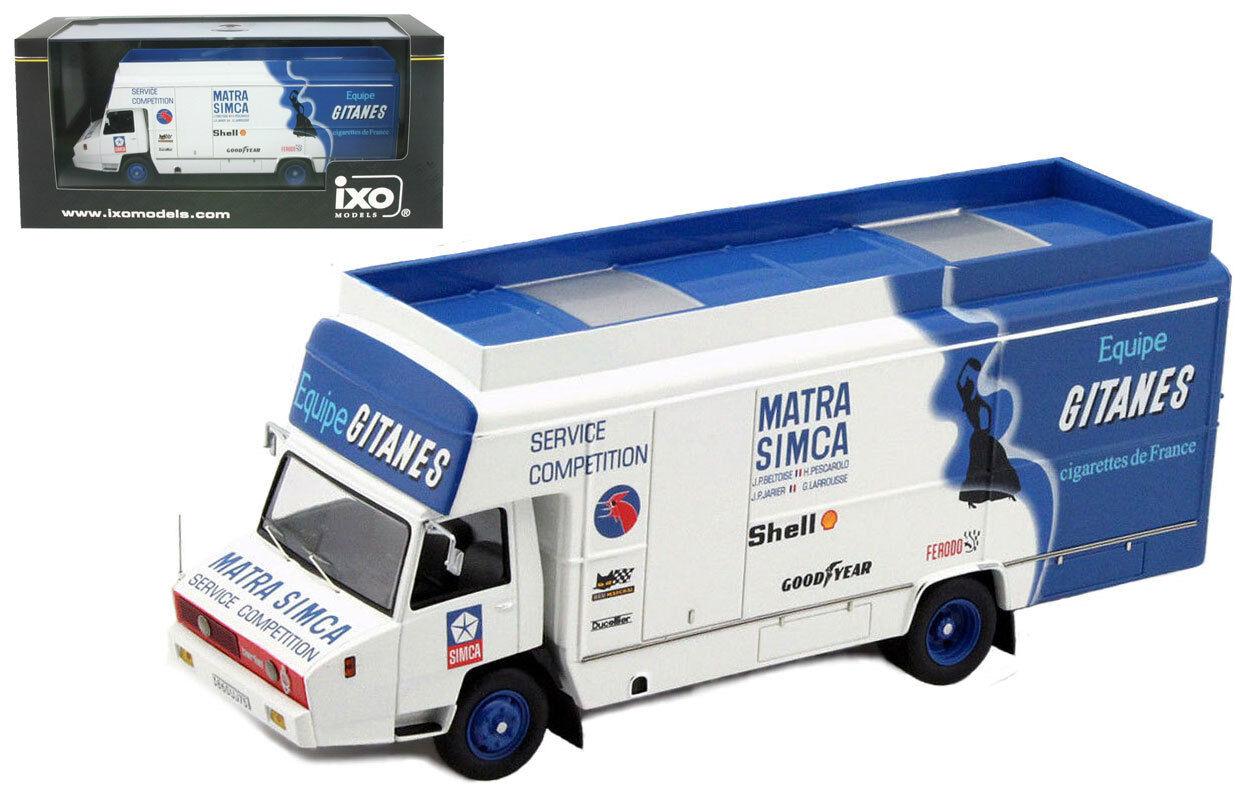 IXO Berliet Stradair 'Simca Matra Equipe Gitanes' Support Vehicle - 1 43 Scale