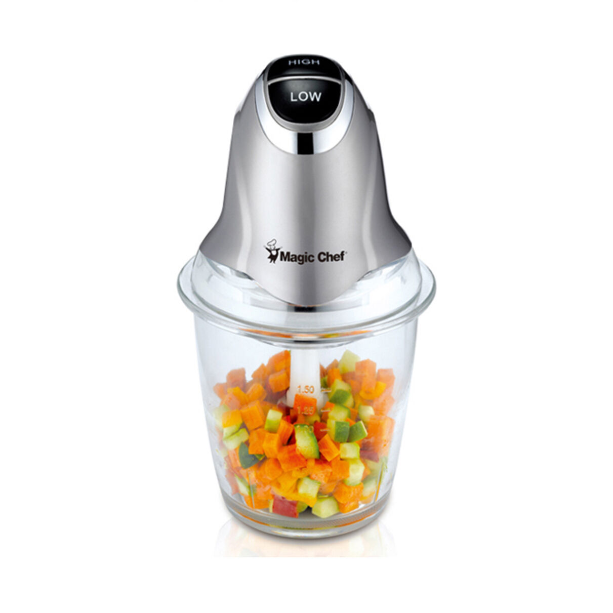 Magic Chef Electric Multi Food Processor Chopper Vegetable Meat Fruit Slicer