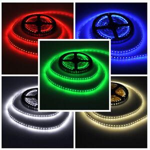 Super-Bright-Color-12V-5M-16-4ft-600-Leds-SMD-3528-Flexible-LED-Strip-Light-Tape