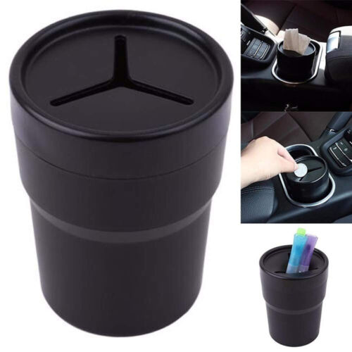 Car Mini Multifunctional Pen Tissue Coin Holder  Box Trash Bin Cup Container//