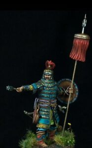 Tin toy soldier 54 mm Superb Elite painting in St.Petersburg.Noble Warrior