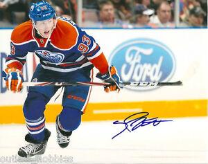 Edmonton-Oilers-Ryan-Nugent-Hopkins-Signed-Autographed-8x10-Photo-COA-A