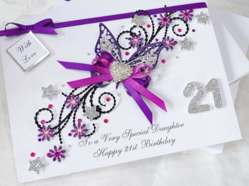 Mothers Day  Gift Box 3D Personalised Handmade Card Birthday