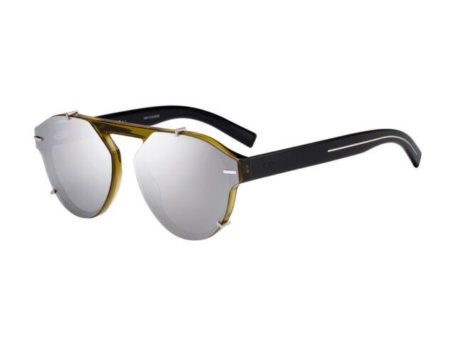 6fa11bd600 Christian Dior BlackTie 254s G6m ot Sunglasses Khaki Black Silver Lens