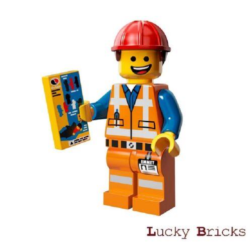 Hard Hat Bauarbeiter Emmet The Lego Movie Figur 3 LEGO Minifiguren 71004