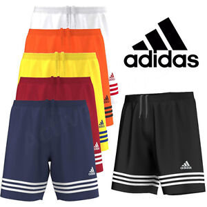 Mens-Adidas-Shorts-Entrada-Climalite-Sports-Football-Gym-Training-S-M-L-XL-XXL