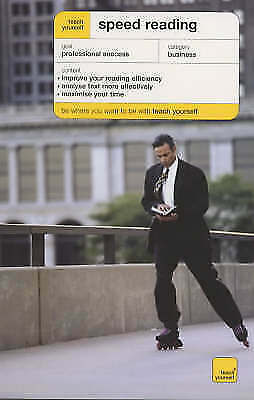1 of 1 - Teach Yourself Speed Reading by Tina Konstant (Paperback, 2003)