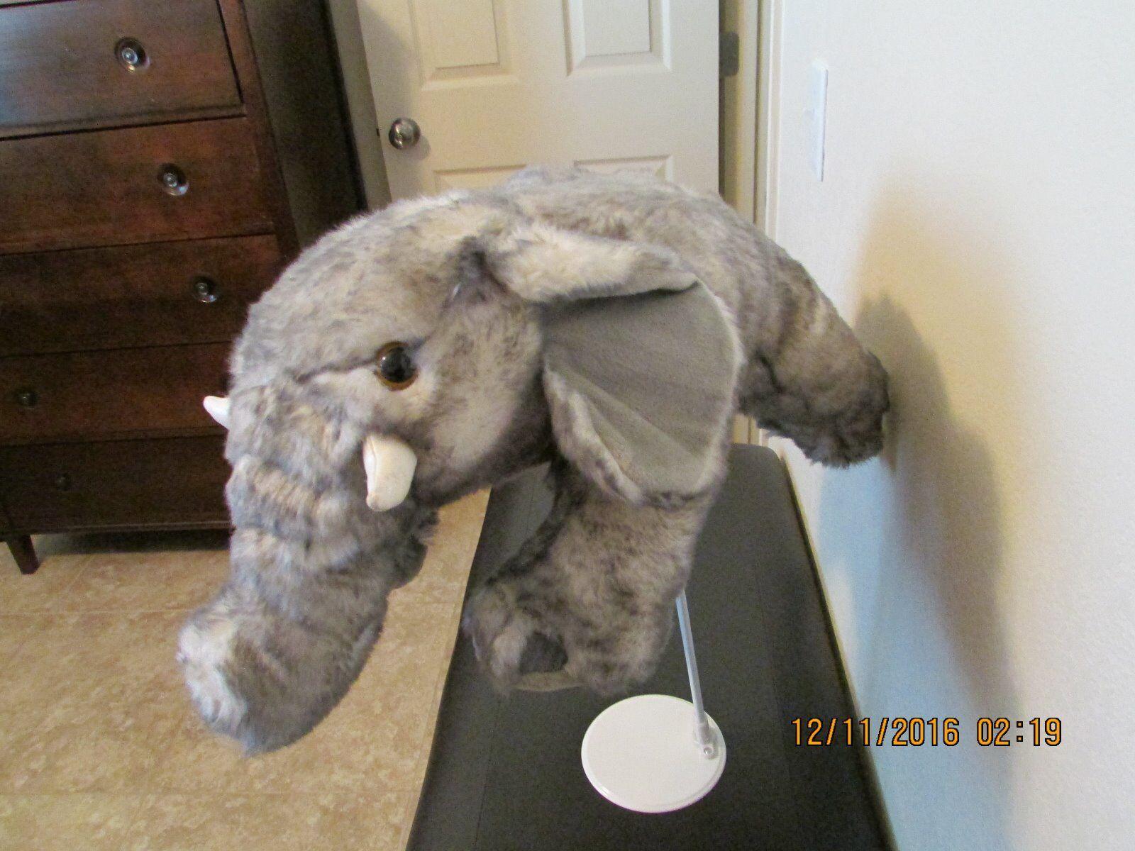 Plush Stuffed ELEPHANT   LAY LAY LAY DOWN  59a1bc