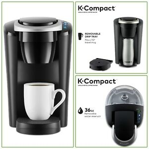 Keurig Coffee Maker K Compact Single Serve K Cup Pod Brewing Machine