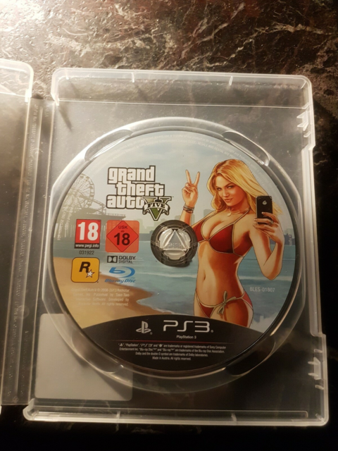 Grand Theft Auto 5, PS3, action, GTA 5 sælges til…