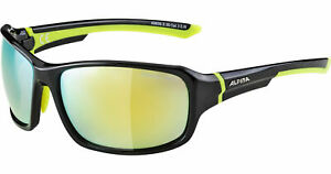Alpina-Sportbrille-Radbrille-Freizeit-Brille-Ceramic-Material-Lyron-schwarz-gelb