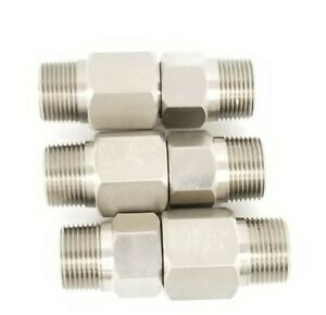 Details about LOT OF 3 NEW CONAX BUFFALO 709047 LYOPHILIZER CONNECTORS  1/2'' IN ID 1'' IN  OD