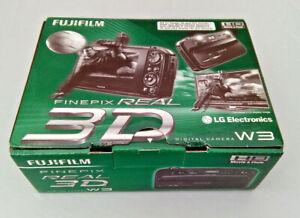 FujiFilm-Finepix-REAL-3D-W3-Camera-NEW-boxed-Fuji-Digital-camera-sealed-in-bag