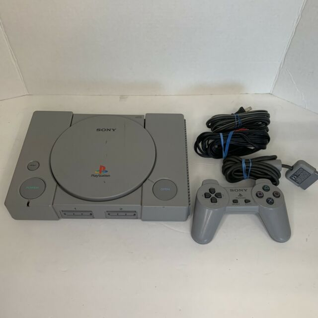 Sony PlayStation PS1 Console System w/ Cords - Controller SCPH-9001 Tested
